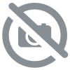 atomiseur verre blanc 100 ml avec spray or